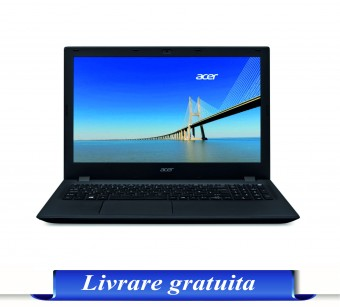 LAPTOP ACER EX2540,15.6 HD, i3-6006U, 4GB, 500GB, GMA HD 520, Linux, Black