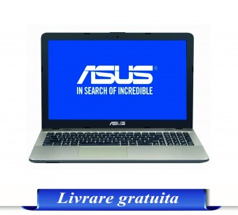 LAPTOP ASUS X541UA-DM1232, FHD, i3-7100U, 4GB DDR4, 1TB, GMA HD 620, Endless OS, Chocolate Black