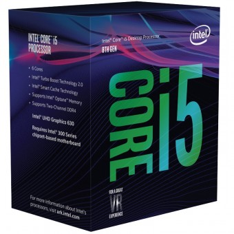 PROCESOR INTEL COFFEE LAKE, Core i5-8400 2.80GHz