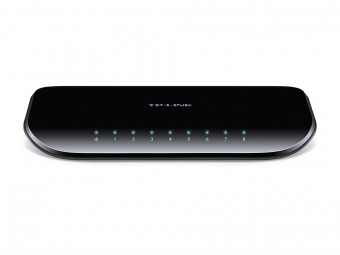 TP-LINK SWITCH  8-PORT GIGABIT TL-SG1008D