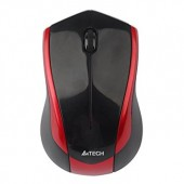 A4TECH MOUSE WIRELESS G7-400N Black-Red