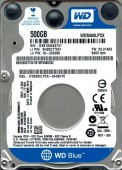 Hard disk laptop WD Blue 500GB SATA-III 5400 RPM
