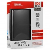 HDD EXTERN TOSHIBA CANVIO BASICS 500GB 2.5