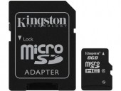KINGSTON CARD MEMORIE SDHC 8GB CLASS 4