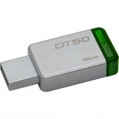 KINGSTON DATA TRAVELER 50 16GB USB 3.0(Metal/Green)