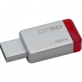 KINGSTON DATA TRAVELER 50 32GB USB 3.0 (Metal/Red)
