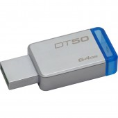 KINGSTON DATA TRAVELER 50 64GB USB 3.0 (Metal/Blue)