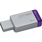 KINGSTON DATA TRAVELER 50 8GB USB 3.0 (Metal/Purple)