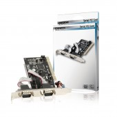 KONIG PLACA PCI PCI + 2xRS232 serial