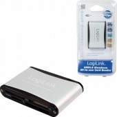 LOGILINK USB 2.0 Aluminium All-in-One Card Reader CR0001B