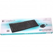 Logitech Kit tastatura + mouse Wireless MK270