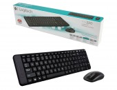 LOGITECH KIT TASTATURA SI MOUSE WIRELESS MK220