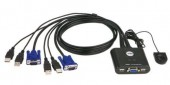 SWITCH KVM ATEN CS22U 2-porturi USB